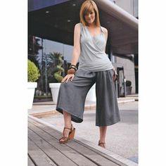 Modistería Básica: falda pantalon