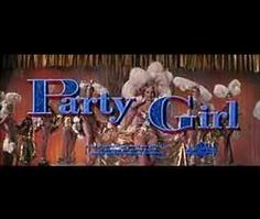 """Cyd Charisse in """"Party Girl"""" - Title Sequence"""