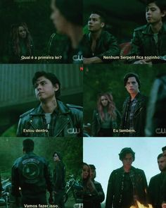Essa é a regra meus amigos! #riverdale #serpentes #jugheadjones #tonitopaz #sweetpea Pretty Little Liars, Camilla Mendes, Madchen Amick, Gina Gershon, Riverdale Characters, Cole Sprouse, Chad Michael Murray, Luke Perry, Riverdale Memes