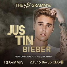 Justin Bieber Will Perform At The Grammy's