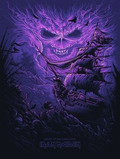 Welcome To The CREEPSHOW — kogaionon:   Ghost of the Navigator by Dan Mumford...