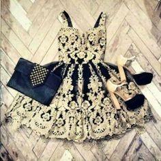 love my black&gold