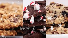 Watch this video to learn how to make three simple and delicious healthier cookie recipes for all your holiday party needs this season. Each recipe incorporates whole food ingredients that your family will love.