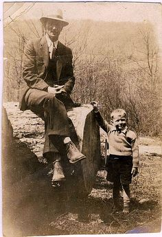 Pop and Dad by Dreaming in the deep south, via Flickr