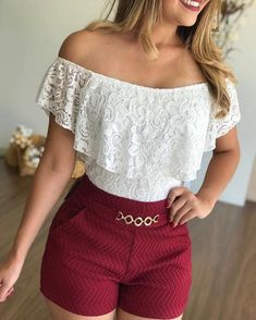 Cute fashion outfits ideas – Fashion, Home decorating Summer Shorts Outfits, Short Outfits, Outfits For Teens, Stylish Outfits, Cute Outfits, Outfit Summer, Teen Fashion, Fashion Outfits, Stylish Clothes