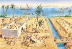 Farming in ancient Egypt - Q-files Encyclopedia
