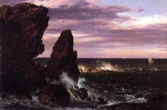 Frederic Edwin Church - Coast Scene,1852