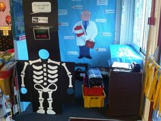 Hospital class room role play area