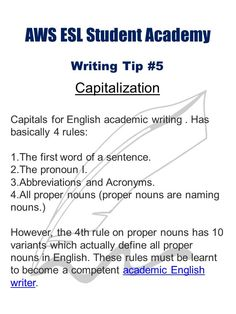 Essay Writing for ESL EFL Students   YouTube Academic writing
