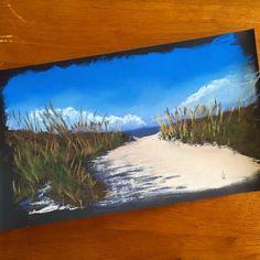 108 отметок «Нравится», 7 комментариев — Olga Reukova  ART for SALE (@olique_art_studio) в Instagram: «And one more :) Charleston dunes. Soft pastel on sanded paper. Private collection. #OliqueArtStudio…»