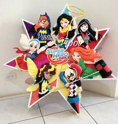 Wonder Woman Party, Dc Super Hero Girls, Dc Heroes, Diy Birthday, Marvel, Superhero, Ideas, Toddler Girls, Girl Super Heroes