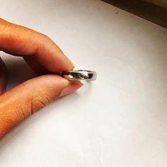 Plain Platinum Men's Band with Milgrain finish on the edges Design : SJ PTO 254 by @jewelove #platinum #Platinumrings #jewelove #weddingring #milgrain #mensrings #mensstyle #mensfashion #men #mensjewelry #engagementring #rings #ring #love #pt950 #trueplatinum950