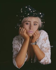 Studio portrait of singer and songwriter Wendy James of British pop group Transvision Vamp posed wearing a lace blouse and polka dot hat in July Get premium, high resolution news photos at Getty Images Wendy James, Transvision Vamp, Aerosmith, Studio Portraits, My Chemical Romance, My Favorite Music, Stock Pictures, Still Image, Pop Group