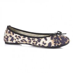 Leopard Cleo Ballet Pumps