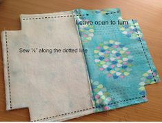 """Sewing Gifts My Favorite Zipper Pouch {tutorial} - I am excited to share the pattern for my """"Favorite Zipper Pouch"""". I needed a few gifts and whipped up some zipper pouches. I have made lots and lots of zipper bags. Easy Sewing Projects, Sewing Projects For Beginners, Sewing Hacks, Sewing Tutorials, Sewing Crafts, Sewing Tips, Tutorial Sewing, Bag Tutorials, Sewing Patterns Free"""