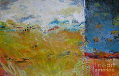 Prairie Waltz Painting  - Prairie Waltz Fine Art Print