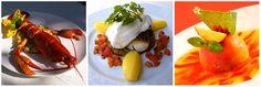 3 exemples de plats servis à l'Insolite