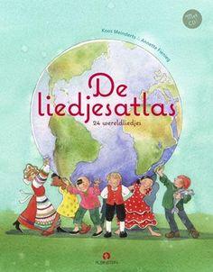 De liedjesatlas, boek + Cd, 24 wereldlie