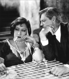 Gloria Swanson & Lionel Barrymore - Sadie Thompson (1928)