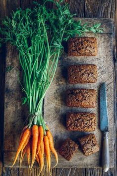 From the Kitchen I Mr McGregor's Mini Carrot Loaves #foodphotography,