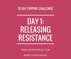 I like this  10 Days of EFT Tapping Scripts/videos to help you with limiting beliefs around W...