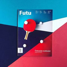 """We love the cover of the latest Futu Magazine, a Polish mag about """"what's new + exciting in Poland. Designed by @paul_marcinkowski + Futu Group. #graphicdesign"""