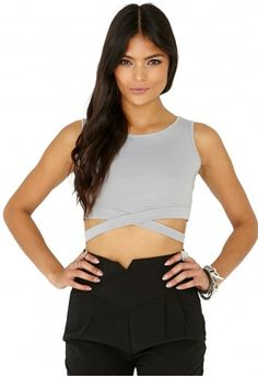 Wait bandage top Missguided