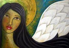 angel paintings - Google Search