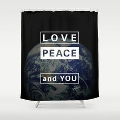 and YOU_earth Shower Curtain by SEVENTRAPS | Society6