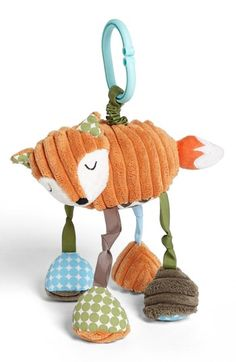 Mud Pie 'Fox' Stroller Toy available at #Nordstrom