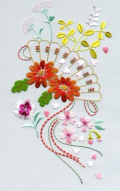 japanese embroidery | 8309 V&A Project – £54.15
