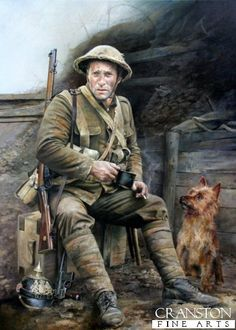 Trench Pals by Chris Collingwood. Somewhere in Flanders, 1917.