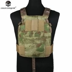 57.35$  Buy here - http://aliot5.worldwells.pw/go.php?t=32779351776 - Emerson LBT6094 Style SLICK Medium Plate Carrier Hunting Vest Nylon Molle Wargame Paintball Military Combat Gear EM2982 AT-FG ^ 57.35$