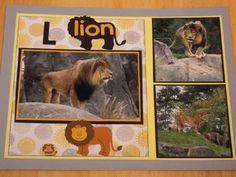 L Lion - Scrapbook.com