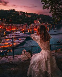 Portofino Italy Travel Guide by Fas Instagram Outfits, Foto Instagram, Instagram Travel, Portofino Italy, Best Summer Dresses, Travel Outfit Summer, Photos Voyages, Jolie Photo, Travel Aesthetic