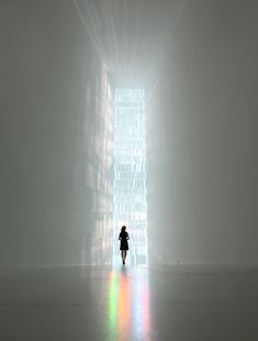 My Interior Design Collection:TOKUJIN YOSHIOKA INC. | New Project | SPECTRUM , I like the composition of the photo, n the color spectrum underneath the woman