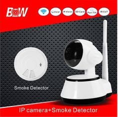 ==> [Free Shipping] Buy Best Russia Hot sale Mini Camera Smart Wireless Web Camera  Smoke Detector CCTV Camera 3.6mm View Angle Lens Home Alarm System BW014 Online with LOWEST Price | 32580197062