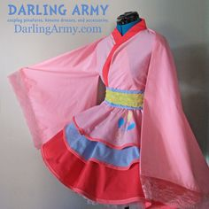 Pinkie Pie MLP Cosplay Kimono Dress by DarlingArmy on DeviantArt                                                                                                                                                                                 More