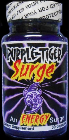 Purple Tiger Surge™ a serious weight loss product... we're talking about rapid, significant weight loss and extreme energy, finally together in one power-packed super pill delivering more weight loss than the leading diet pill and all the energy you'll ever want or need... day or night.