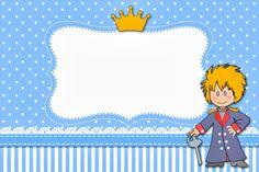 Fazendo a Minha Festa!: Pequeno Príncipe - Kit Completo com molduras para convites, rótulos para guloseimas, lembrancinhas e imagens!