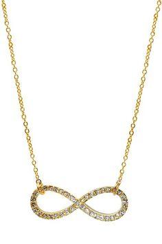 Infinity Sparkle Necklace
