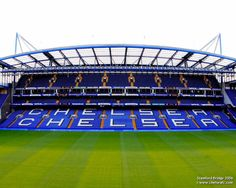 Stamford Bridge to see The Chelsea Blues? Chelsea Football, Chelsea Fc, Football Stadium Wallpaper, Soccer Stadium, English Football Stadiums, Stamford Bridge Chelsea, London Travel, Iker Casillas, Ticket