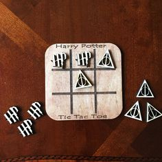 The PERFECT addition to your game collection for a HP themed party or a play date with a little (or big) muggle! Travel size so take it with your anywhere! Dimensions are 6 x 6. Comes with the tic tac