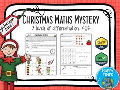 Christmas Maths Mystery