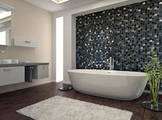 We hope everyone is having a great Monday! So is there anything better than a great way to begin your week with our unique mosaics?  For more information, images and samples please contact us.  item code: TS966003– Trendy Surfaces