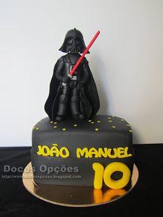 Doces Opções: O Darth Vader foi ao 10º aniversário do João Manue...