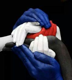 Mani blucerchiate