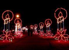 Airdrie, Christmas Light Walk