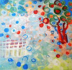 "Saatchi Online Artist Amalya  Nane Tumanian; Painting, ""Remembering My Garden"" #art"