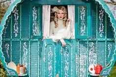 Campbell-Photography-Vintage-Shoot---Vintage-Caravan. Read More - http://onefabday.com/decadence-vintage-wedding-fair/